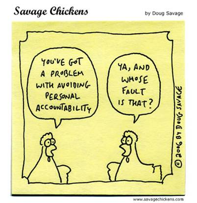 Accountability (Savage Chickens)