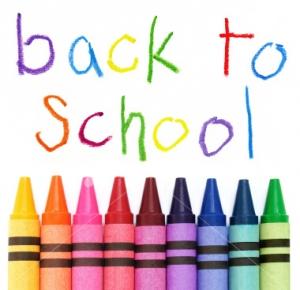 Backtoschool crayons